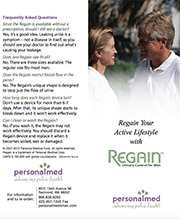 Regain OTC Male Device Brochure